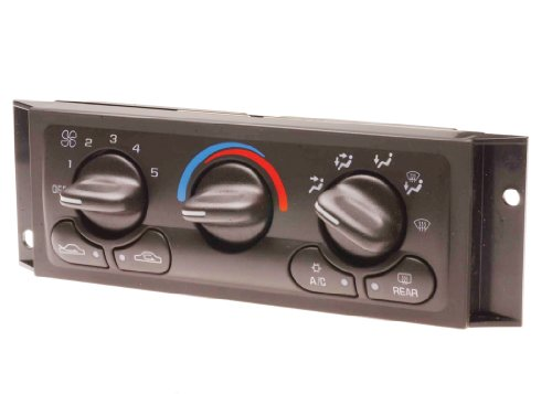 ACDelco 15-72687 GM Original Equipment Heating and Air Conditioning Control Panel with Rear Window Defogger Switch -