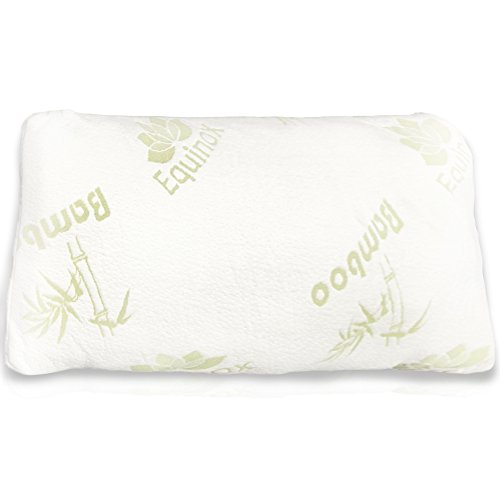 equinox-international-queen-standard-size-17-x-25-inches-shredded-memory-foam-pillow-with-removable-
