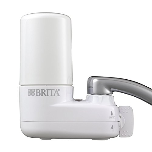 Brita Basic On Tap Faucet Water Filter System (Fits Standard Faucets Only)