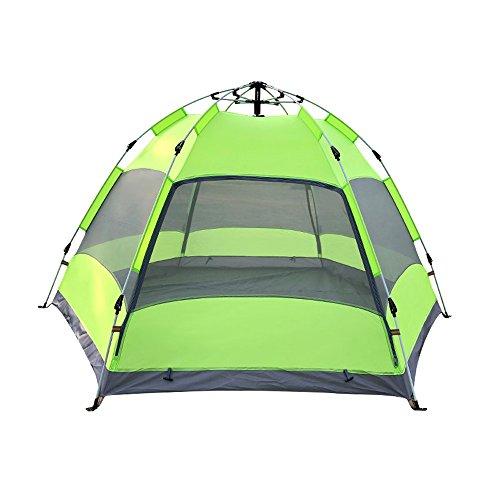 スタッフ潜む実際に3-4人自動屋外テントファミリーキャンプ防水屋外キャンプテント240cm * 135cm (設計 : 2)