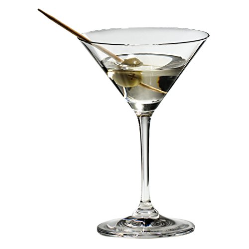 Riedel Vinum Leaded Crystal Martini Glass, Set of 8