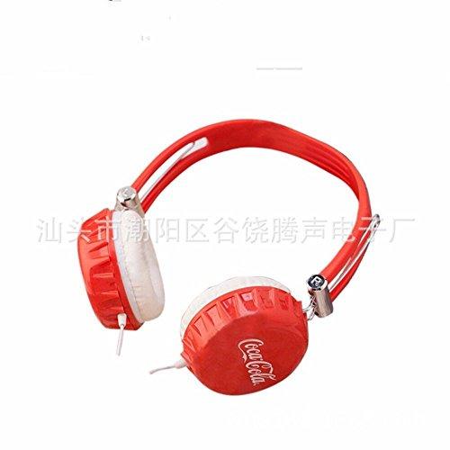 XHKCYOEJ Headset Stereo Headset/Headphones/Head Wear/Computer/Headphones/Wired/Universal,Gules: Amazon.co.uk: Electronics