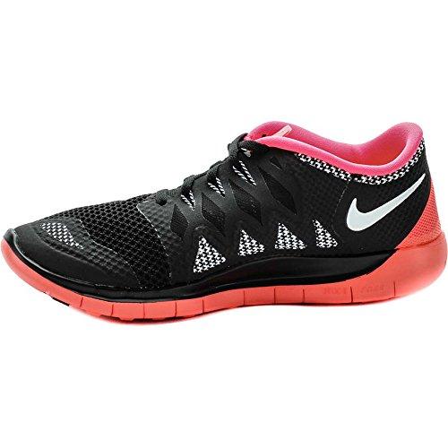 Nike  Free 5.0 (Gs) - Zapatillas para niñas black/hyperpunsch