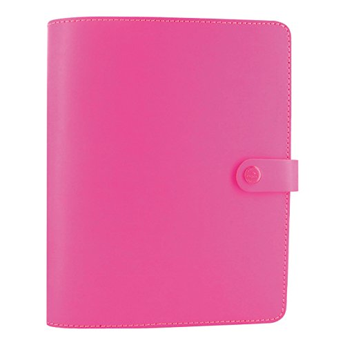 Filofax Pen Pink (Filofax The Original Leather Organizer, Fluro Pink, A5 (8.25 x 5.75) Any Year Planner with to do and contacts refills, indexes and notepaper (C022439))