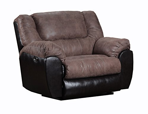 (Simmons Upholstery Bandera Cuddler Recliner Mocha Color)