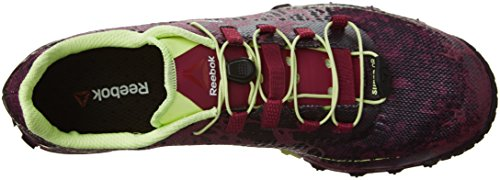 Reebok Donna All Terrain Super O Running Shoe Berry / Violet