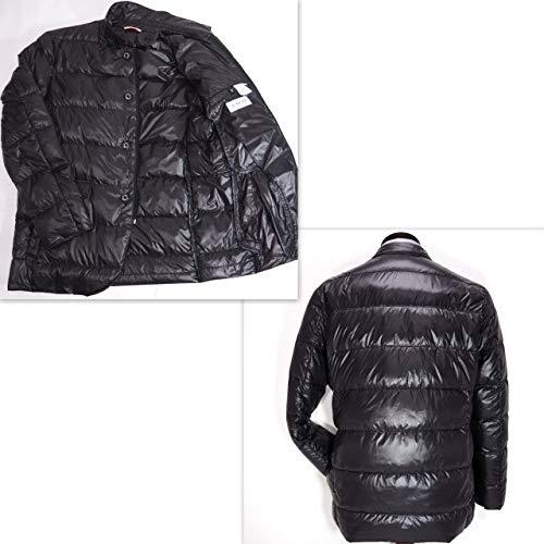 40574 秋冬 中綿 テーラードジャケット風ダウンコート ブルゾン 2WAY ブラック(黒) サイズ 50(LL) CAPRI カプリ 紳士服 メンズ 男性用
