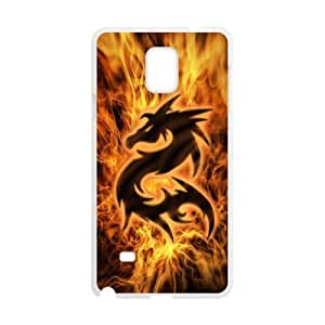 Dragon Wholesale DIY Cell Phone Case Cover for Samsung Galaxy Note 4, Dragon Galaxy Note 4 Phone Case