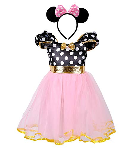 AQTOPS Baby Girls Tutu Dress Up Costumes for Birthday -
