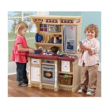 amazon com step2 lifestyle custom kitchen toys games rh amazon com step 2 play kitchen pink play kitchen step 2 for sale