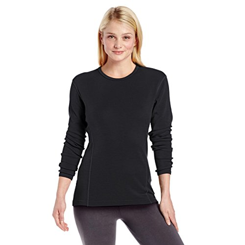 Minus33 100% Merino Wool Base Layer Midweight Black Crew Neck XXL