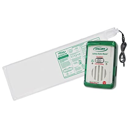 Image of SMART CAREGIVER SBR1-SYS Safety Auto-Reset Monitor And 10-Inch by 30-Inch Bed Sensor Pad Fall Arrest Kits