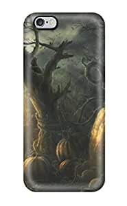 Durable Overgrown Pumpkins Dark Forest Abstract Dark Back Case/cover For Iphone 6 Plus
