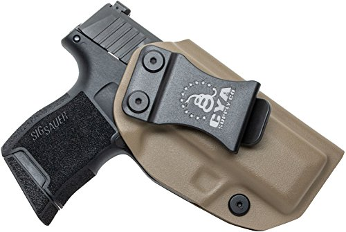 CYA Supply Co. IWB Holster Fits: Sig Sauer P365 - Veteran Owned Company - Made in USA - Inside Waistband Concealed Carry Holster ()