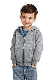 Precious Cargo unisex-baby Full Zip Hooded Sweatshirt 4T Athletic Heather