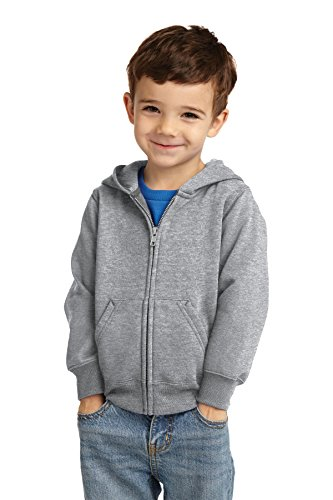 Precious Cargo unisex-baby Full Zip Hooded Sweatshirt 3T Athletic Heather