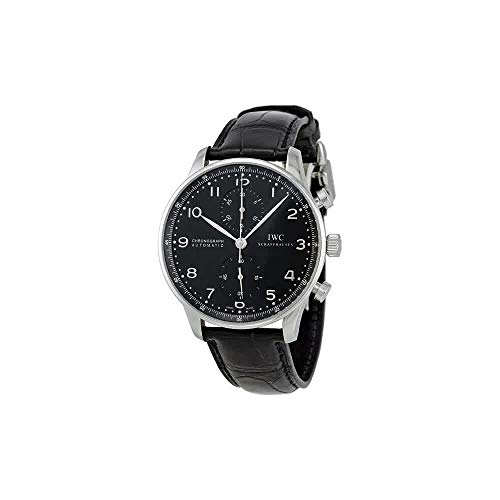 - IWC Men's Swiss Quartz Watch with Stainless Steel Strap, Black (Model: IW371447)