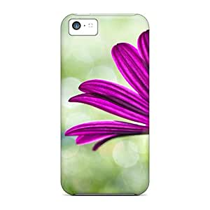 New Style RoccoAnderson Hard Cases Covers For Iphone 5c- Purple Daisy