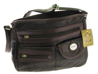 SPIESS GERMANY Damen Schultertasche #2625 Echtleder Tasche Handtasche