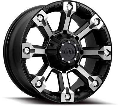 Gear Alloy Backcountry 18x9 Black Wheel / Rim 5x5 & 5x5.5 with a 10mm Offset and a 78.00 Hub Bore. Partnumber 719MB-8900910