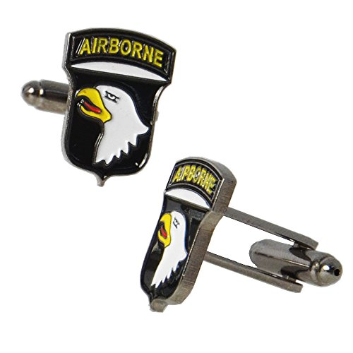 Epic Militaria Military Style Cuff Links (American 101st Airborne (Screaming Eagles)) ()