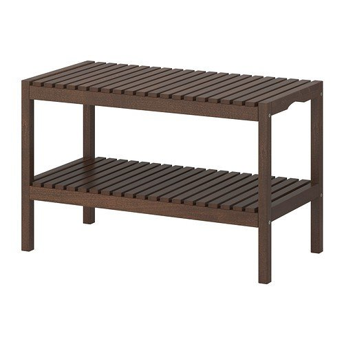 Ikea Molger Bench In Dark Brown Buy Online In Uae Kitchen