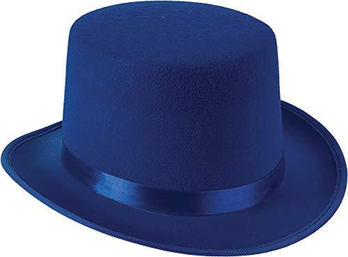 Forum Novelties Blue Deluxe Top Hat -