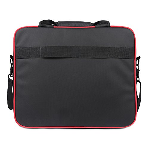 BUBM XBOX Storage Bag, Travel Gadget Carry Case for Game Console and Accessories, High Capacity and Lightweight, Fits for Xbox One, Xbox 360 Fat, Xbox 360 Slim-Black