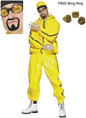 Fancy Dress Four Less Disfraz de Rapero de Ali G para Hombre ...