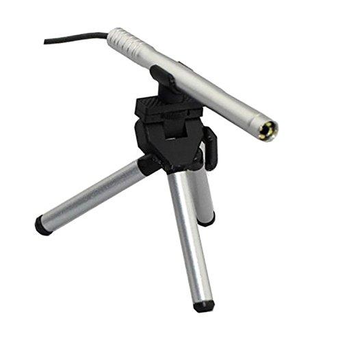 Stardust [ 最大 200 倍 ] ペン 型 LED 搭載 USB マイクロ スコープ 電子 顕微 鏡 ( シルバー ) SD-ZOOMPEN