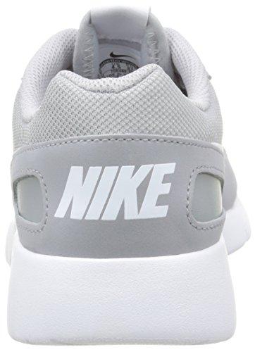 Nike Unisex-Kinder Kaishi (GS) Low-Top, Black-White Grau (008 WOLF GREY/WHITE)