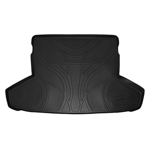 - SMARTLINER All Weather Cargo Liner Floor Mat Black for 2012-2017 Toyota Prius V (No Standard Prius or Prius C Models)