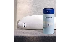 Casper Pillow for Sleeping, Standard, White