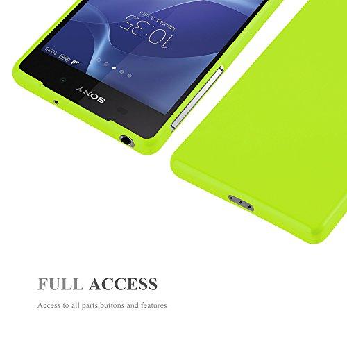 Cadorabo - Cubierta protectora para >                                          Sony Xperia Z2                                          < de silicona TPU en Diseño Jelly