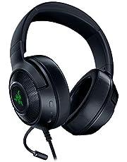 Razer Kraken X USB Digital Surround Sound Gaming Headset, Black, RZ04-02960100-R3M1