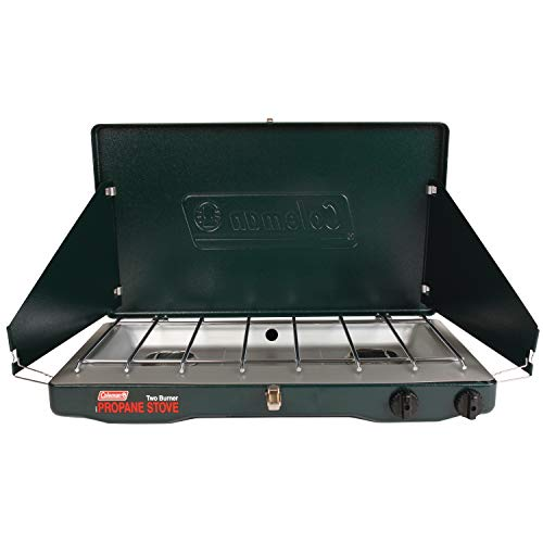 Coleman Gas Stove | Portable Propane Gas Classic Camp Stove with 2 Burners ()