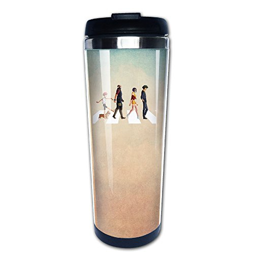 Boomy Custom Cowboy Bebop Road Stainless Steel Coffee Mug For Indoor & Outdoor Office School Gym Use