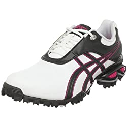 ASICS Women's GEL-Linksmaster(tm) White/Silver/Carolina Blue Sneaker 7.5 B - Medium