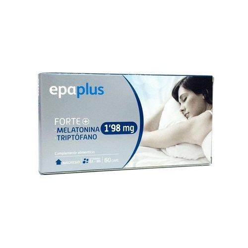 Epaplus Melatonina Forte 1,98Mg + Triptofano 60 Cápsulas de Peroxidos Farmaceuticos: Amazon.es: Salud y cuidado personal