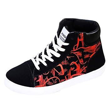8a7d0d00b2a9c Amazon.com: Men High-top Sports Shoes, Male Summer Of Han Edition ...