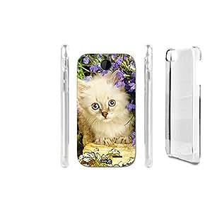 FUNDA CARCASA CAT NEI FIORI PARA HTC DESIRE 310