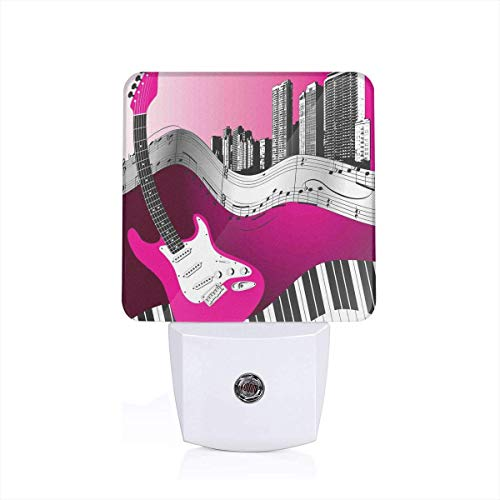Crystal Glow Led Light Guitar in US - 3
