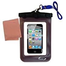 Gomadic Weather and Waterproof Case for the Apple iPod touch (4th generation) – Safely Protects Against the Elements