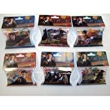 Forever Collectibles Harry Potter Deathly Hallows Logo Bandz 6 Pack Set + ''BONUS HARRY COMBO SET'' Including Tye Dye Necklace by Magix To Wear Your Bandz On & Free ''Forever Carabina'' To Carry Your Harry Potter Bandz!! In STOCK!!!