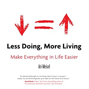 Less Doing, More Living Audiobook