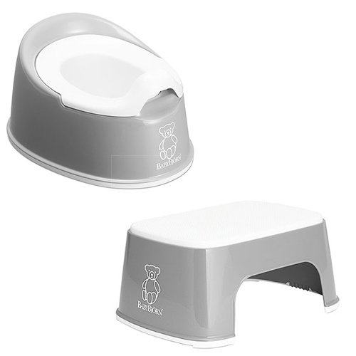 Baby Bjorn Safe Step and Smart Potty Grey 611253 Plus 510259