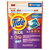 Tide 93127CT Pods, Laundry Detergent, Spring Meadow, 35/PK, 4 PK/CT