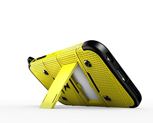 iPhone 6s Plus Case, Zizo [Bolt Series] w/ [iPhone 6s Plus Screen Protector] Kickstand [12 ft. Military Drop Tested] Holster - iPhone 6 Plus / 6s Plus