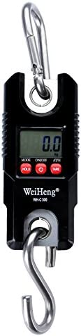 Tutoy Wh-C300 Mini 300 Kg 100 G Gancho Resistente Colgando B/áscula Electr/ónica Digital Escala Peso Gr/úa