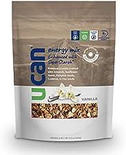 UCAN Granola & Nut Energy Mix - Long Lasting Energy Snack - Low Sugar, Non-GMO, Vegan, Gluten Free, Dairy